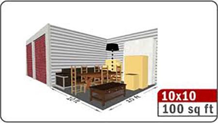 4-10x10 storage size